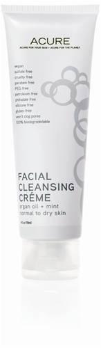 Acure Organics - Acure Organics Facial Cleansing Creme Argan Oil + Mint 4 oz