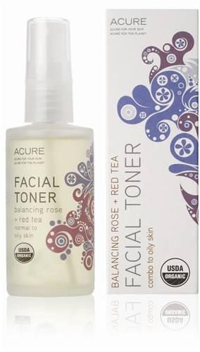Acure Organics - Acure Organics Facial Toner Rose + Red Tea 2 oz