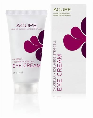 Acure Organics - Acure Organics Eye Cream  Chlorella + Edelweiss Stem Cell 1 oz