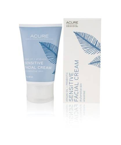 Acure Organics - Acure Organics Sensitive Facial Cream Argan Oil + Probiotic 1.75 oz
