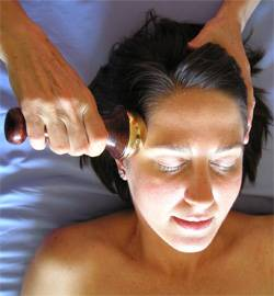 Diamond Way Ayurveda - Diamond Way Ayurveda Kansa Face Wand and Body Massage Tool