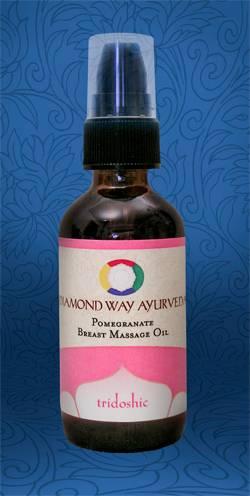 Diamond Way Ayurveda - Diamond Way Ayurveda Pomegranate Oil - for Breast Health 2 oz