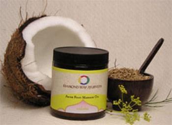 Diamond Way Ayurveda - Diamond Way Ayurveda Anise Foot Massage Oil 4 oz