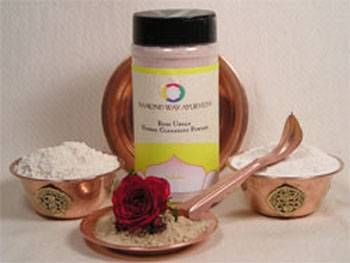 Diamond Way Ayurveda - Diamond Way Ayurveda Rose Ubtan - Gentle Cleanser and Exfoliate 8 oz