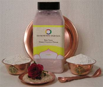 Diamond Way Ayurveda - Diamond Way Ayurveda Rose Ubtan - Cleanser and Exfoliate 1 lb