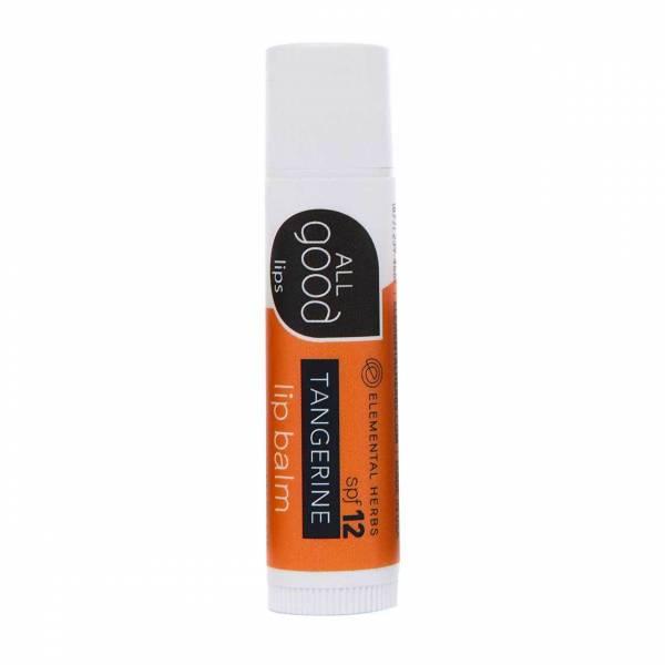 Elemental Herbs - Elemental Herbs All Good Lips - Tangerine Lip Balm SPF12
