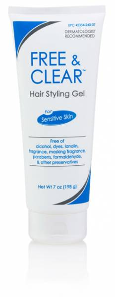 Pharmaceutical Specialties - Pharmaceutical Specialties Hair Styling Gel 7 oz - Free & Clear
