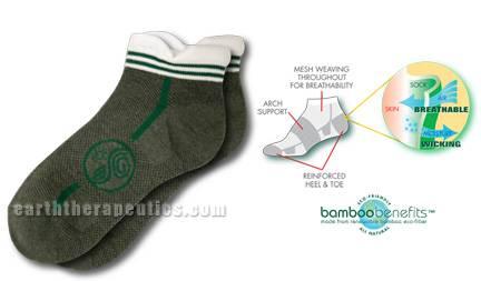 Earth Therapeutics - Earth Therapeutics Bamboo Socks - Sm/Med