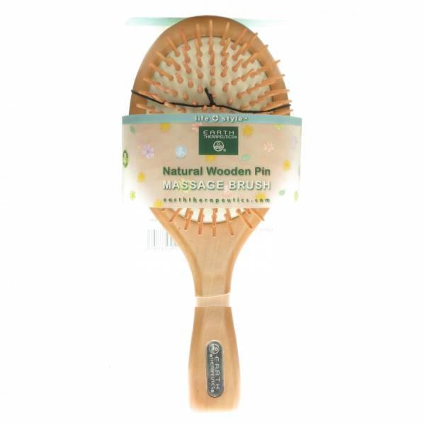 Earth Therapeutics - Earth Therapeutics Wooden Pin Brush - Large