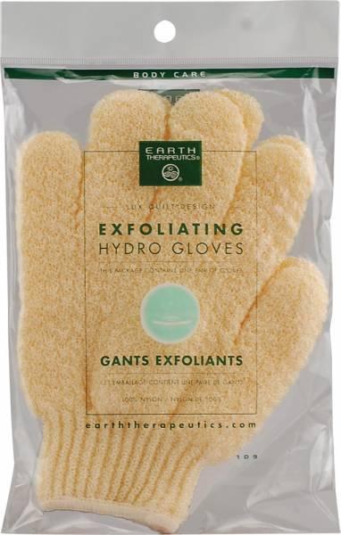 Earth Therapeutics - Earth Therapeutics Exfoliating Hydro Gloves - Yellow