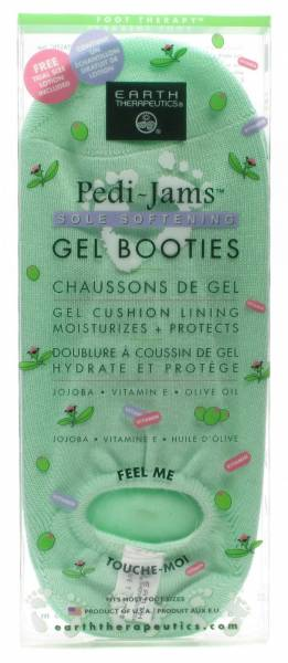 Earth Therapeutics - Earth Therapeutics Gel Sole Booties