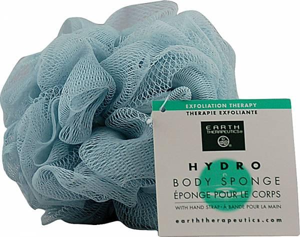 Earth Therapeutics - Earth Therapeutics Hydro Body Sponge with Hand Strap - Blue