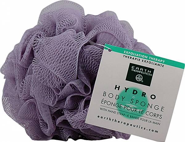 Earth Therapeutics - Earth Therapeutics Hydro Body Sponge with Hand Strap - Lavender