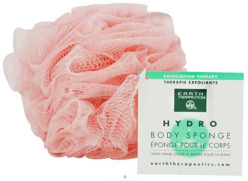 Earth Therapeutics - Earth Therapeutics Hydro Body Sponge with Hand Strap - Peach