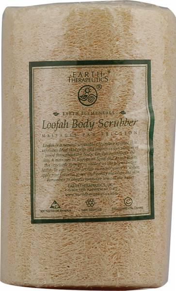 """Earth Therapeutics - Earth Therapeutics Loofah Body Scrubber 5"""" Sponge"""