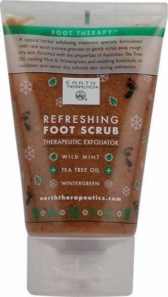 Earth Therapeutics - Earth Therapeutics Refreshing Foot Scrub 4 oz