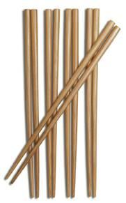 "Joyce Chen - Joyce Chen Burnished Bamboo Chopsticks 9"" 5 pcs"