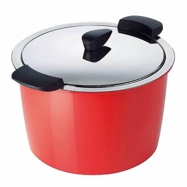 Kuhn Rikon - Kuhn Rikon Hotpan Cook & Serveware Stockpot 5 qt - Red