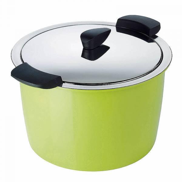 Kuhn Rikon - Kuhn Rikon Hotpan Cook & Serveware Stockpot 5 qt - Green