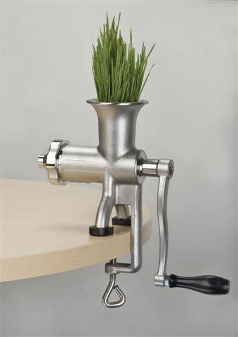 Miracle Exclusives - Miracle Exclusives Miracle Stainless Steel Manual Wheatgrass Juicer
