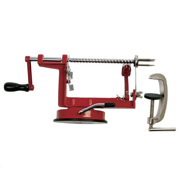 Norpro - Norpro Apple Master With Vacumn Base & Clamp - Red