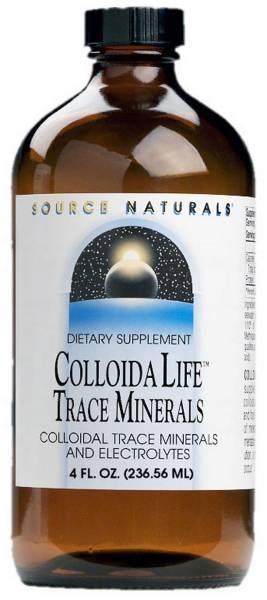 Source Naturals - Source Naturals ColloidaLife Trace Minerals 4 oz