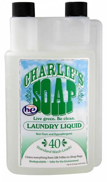 Charlie S Soap Biodegradable Laundry Liquid 40 Loads 32 Oz
