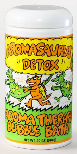 Abra Therapeutics - Abra Therapeutics Aromasaurus Kids Bubble Bath Detox Grapefruit & Green Tea 20 oz