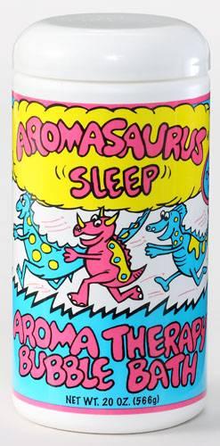 Abra Therapeutics - Abra Therapeutics Aromasaurus Kids Bubble Bath Sleep Lavender & Tangerine 20 oz