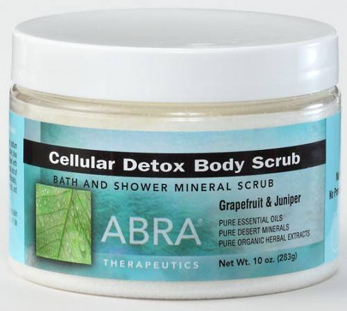 Abra Therapeutics - Abra Therapeutics Cellular Detox Body Scrub 10 oz