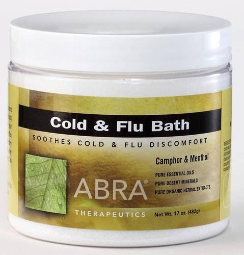 Abra Therapeutics - Abra Therapeutics Cold & Flu Bath 17 oz