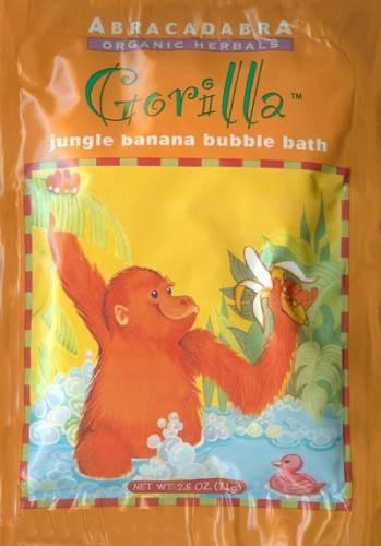 Abra Therapeutics - Abra Therapeutics Gorilla Jungle Banana Bubble Bath