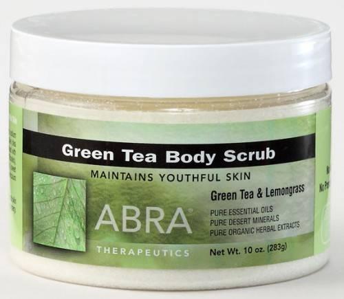 Abra Therapeutics - Abra Therapeutics Green Tea Body Scrub 10 oz