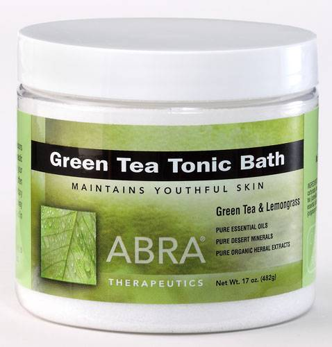 Abra Therapeutics - Abra Therapeutics Green Tea Body Soak 17 oz