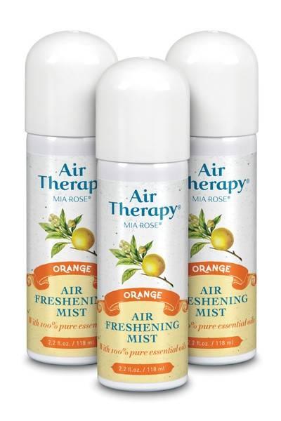Air Therapy (Mia Rose) - Air Therapy (Mia Rose) Air Freshener 2.2 oz - Orange
