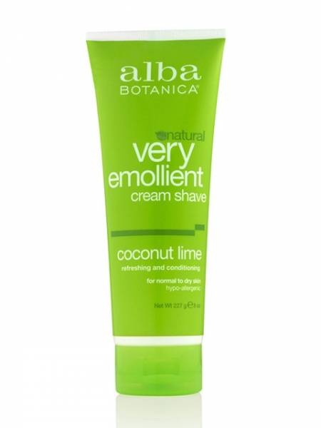 Alba Botanica - Alba Botanica Cream ShaveOriginal Formula 8 oz-Coconut Lime