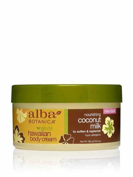 Alba Botanica - Alba Botanica Hawaiian Body Cream6.5 oz-Coconut Milk