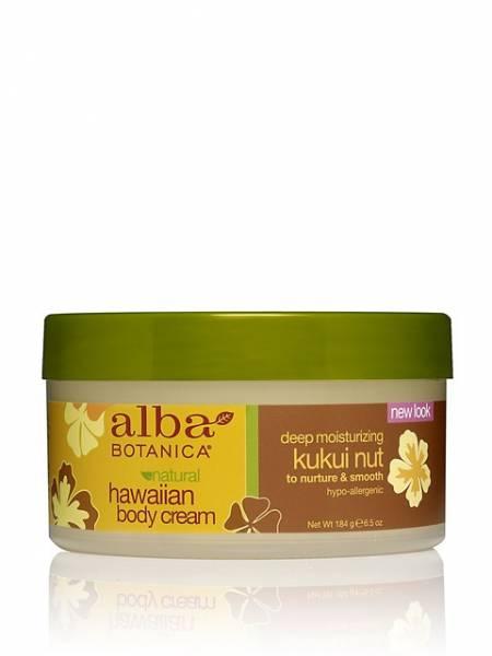 Alba Botanica - Alba Botanica Hawaiian Body Cream6.5 oz-Kukui Nut