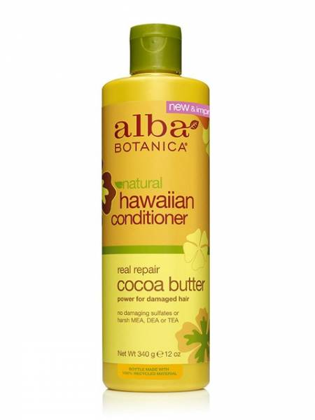 Alba Botanica - Alba Botanica Hawaiian Hair Conditioner Dry Repair12 oz-Cocoa Butter