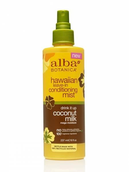 Alba Botanica - Alba Botanica Hawaiian Drink It Up Leave-In Conditioning Mist8 oz-Coconut Milk