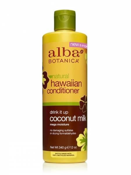 Alba Botanica - Alba Botanica Hawaiian Hair Conditioner Extra Rich12 oz-Coconut Milk