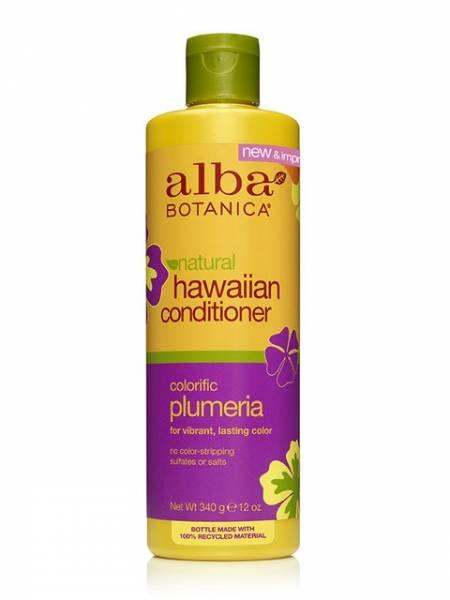 Alba Botanica - Alba Botanica Hawaiian Hair Conditioner Replenishing12 oz-Plumeria