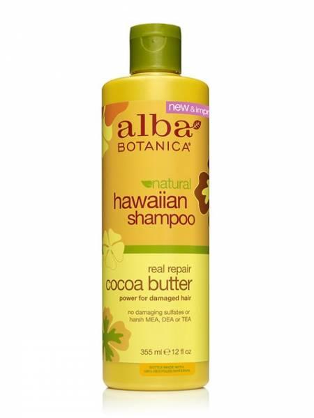 Alba Botanica - Alba Botanica Hawaiian Hair Wash Dry Repair12 oz-Cocoa Butter