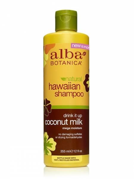 Alba Botanica - Alba Botanica Hawaiian Hair Wash Extra Rich12 oz-Coconut Milk