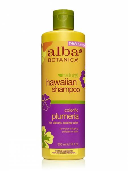 Alba Botanica - Alba Botanica Hawaiian Hair Wash Replenishing12 oz-Plumeria