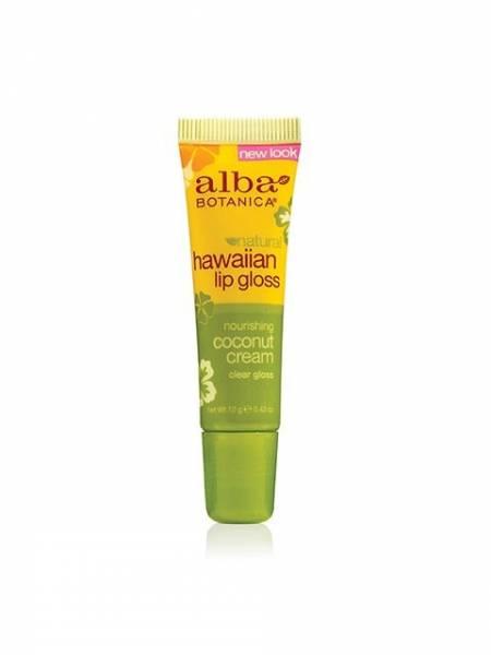 Alba Botanica - Alba Botanica Hawaiian Lip Gloss0.42 oz-Coconut Cream