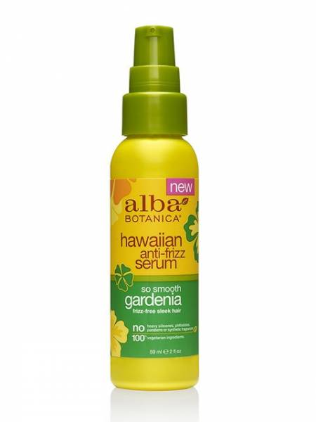 Alba Botanica - Alba Botanica Hawaiian So Smooth Anti-Frizz Serum 2 oz - Gardenia