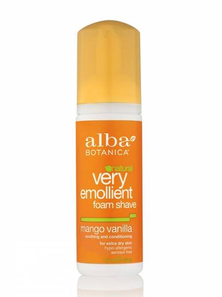 Alba Botanica - Alba Botanica Shave Foam Moisturizing5 oz-Mango Vanilla