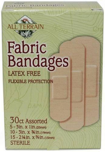All Terrain - All Terrain Fabric Bandages Assorted 30 pc