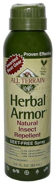 All Terrain - All Terrain Herbal Armor Insect Repellent BOV Spray 3 oz